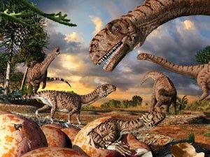 EVOLUCIONISMO E CRIACIONISMO: Asteroide teria matado dinossauros mais cedo que i...