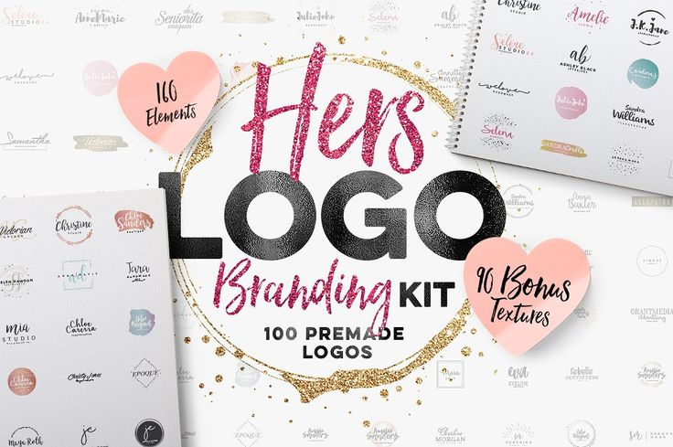 Logo design and branding kit - I have this, and it's the best thing I've purchased recently.