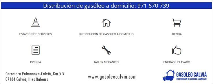 Distribución de Gasóleo a Domicilio en #Mallorca. #Calvia #Balears