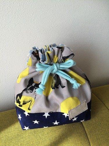 幼稚園に!ハンドメイドお弁当袋の作り方。簡単&切り替えの2種紹介   春夏秋冬を楽しむブログ