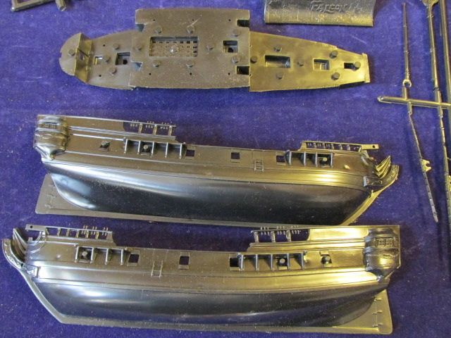 Vintage Pirate SHIP Aurora Plastic Model Kit 210 Black Falcon 1956 ...