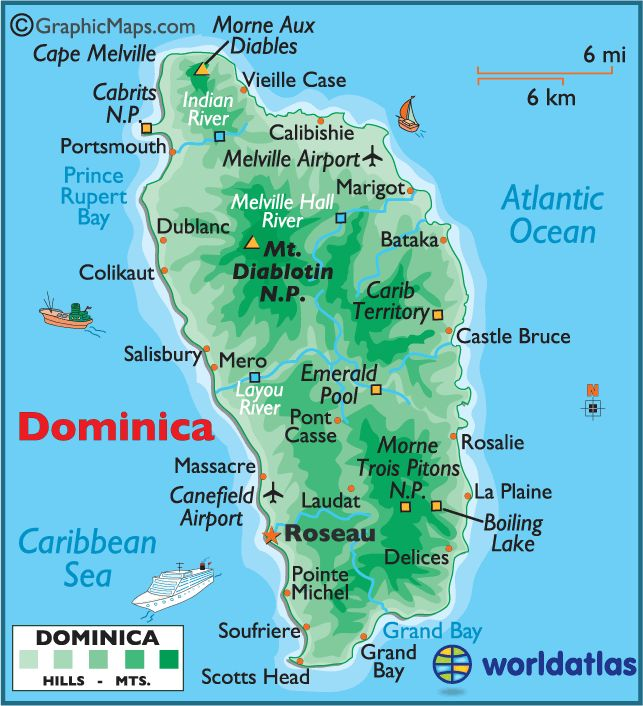 73 Best Dominica Images On Pinterest
