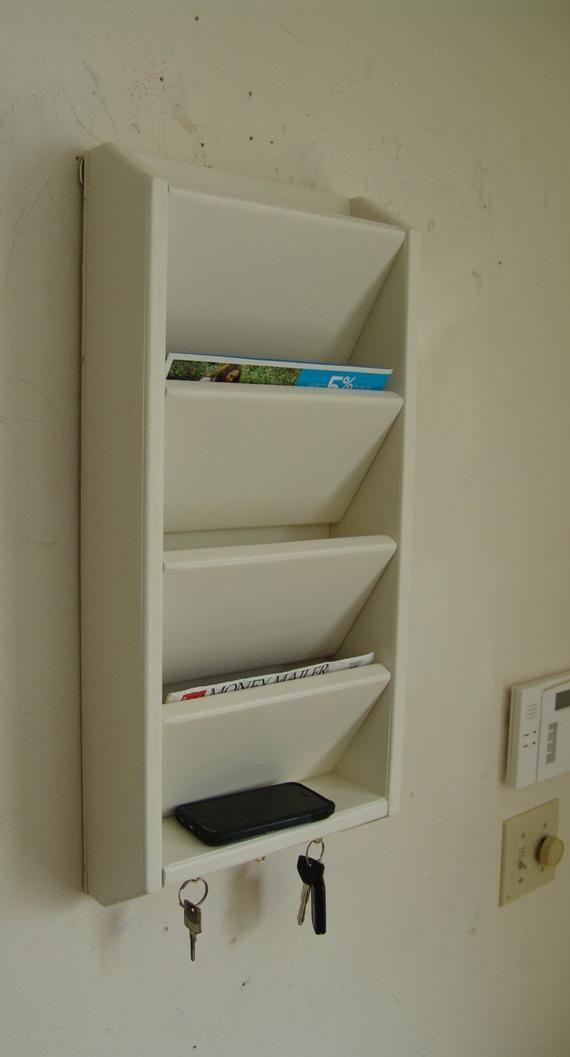 4 Pocket Mail Key Organizer 12 Wide