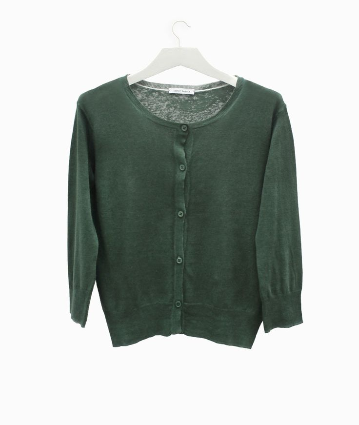 Lebor Gabala green cardigan #arropame #conceptstore #bilbao #ss2016 #LeborGabala #fashion #shopping #trendy #stylehttp://arropame.com/lebor-gabala-primera-capsula-ss16/