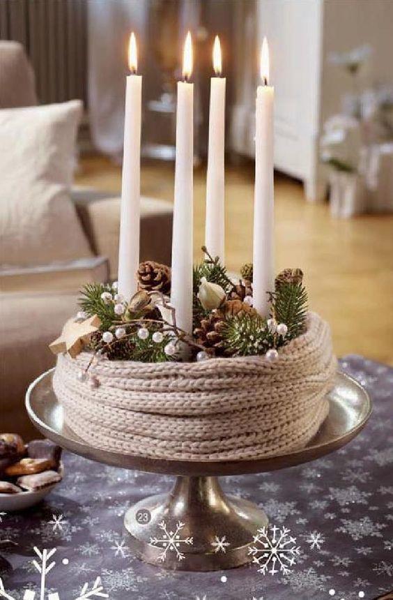 Die besten 25 advent kerzen ideen auf pinterest - Dekoration advent ...