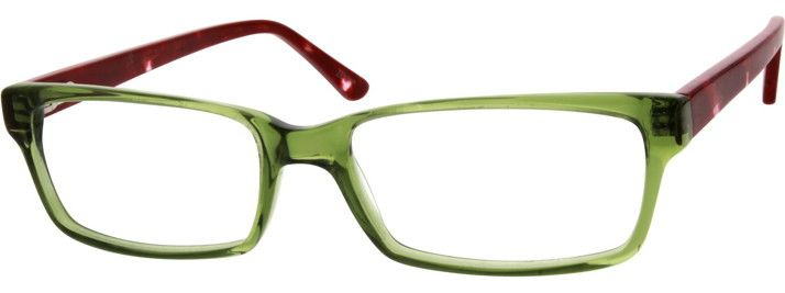 Order online, unisex green full rim acetate/plastic rectangle eyeglass frames model #303924. Visit Zenni Optical today to browse our collection of glasses and sunglasses.