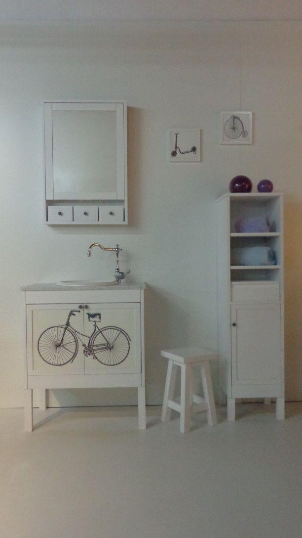 Mueble de ba o super original ideal para chicos muy - Mueble bano vintage ...