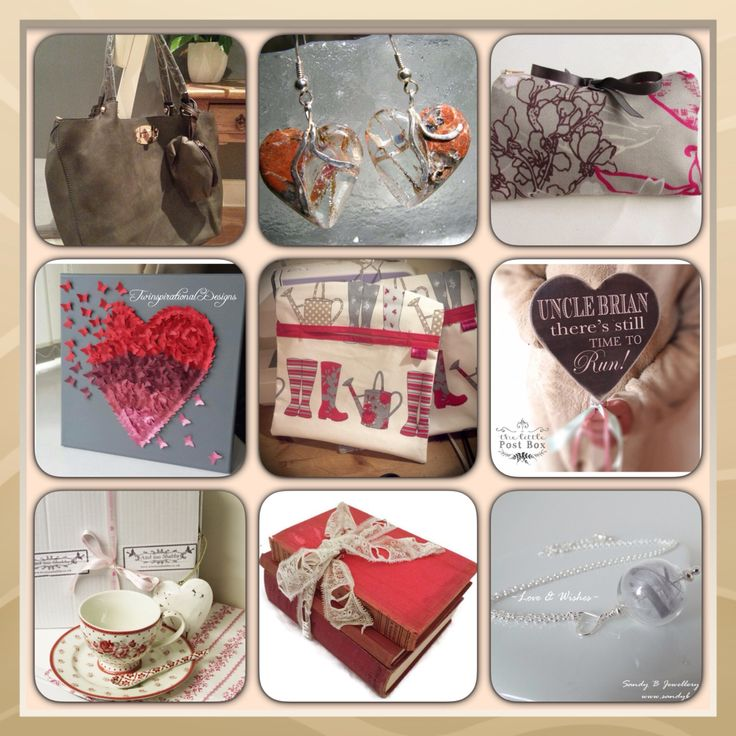 Stunning selection of goods in the colours red n grey from #fabulousfbpages of #htlmp today. Here we have #bags #pegbags #peg #china #cup #saucer #tea #books #vintage #jewellery #feather #glass #hearts  #butterflies #canvas #htlmp