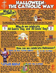 Halloween the Catholic Way: Let's take back our holiday!!!