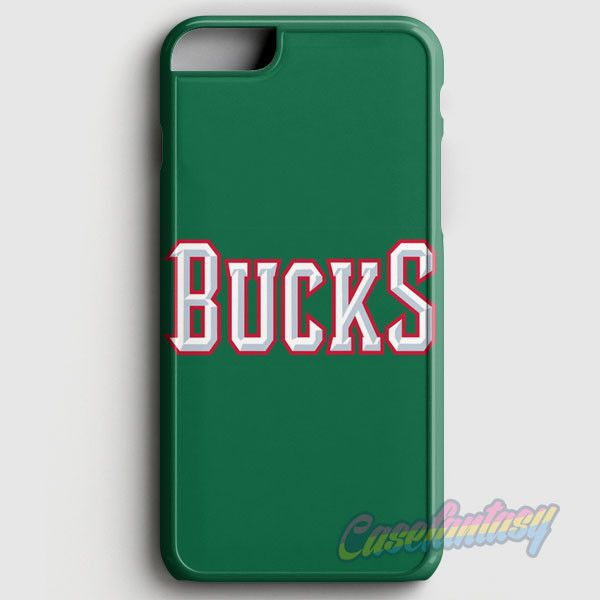 Nba Dc Bucks Logo Head iPhone 6 Plus/6S Plus Case | casefantasy