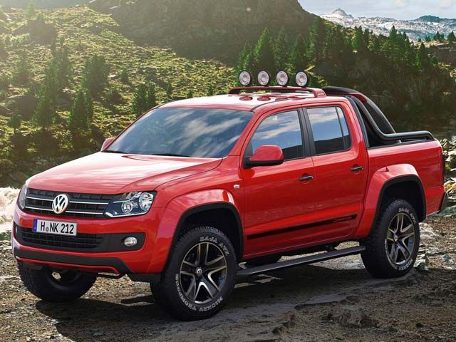New Volkswagen Pickup VW Amarok Canyon The only pickup a doctors wife should drive, is European.