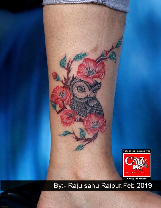 Canvas painting and wall painting   – crazy ink tattoo work