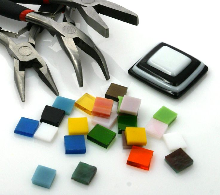 Parts of making glass jewelleries.