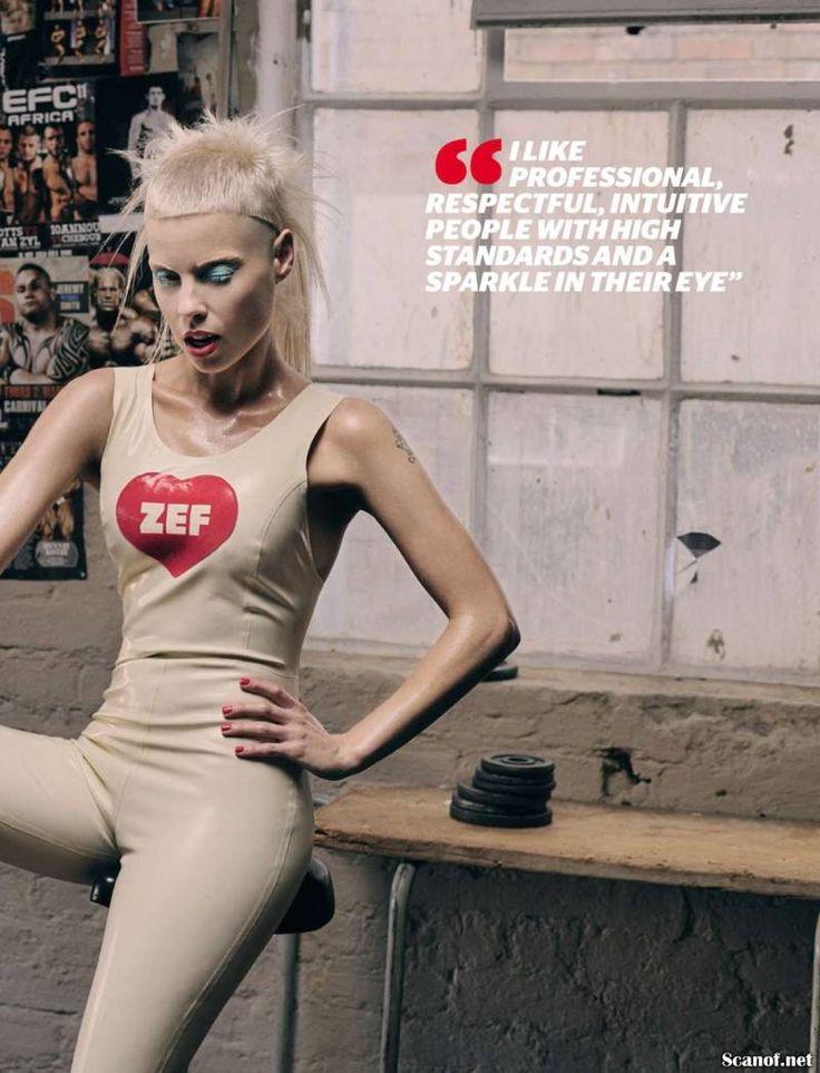 Yolandi Visser in FHM Zuid-Afrika - VK Magazine