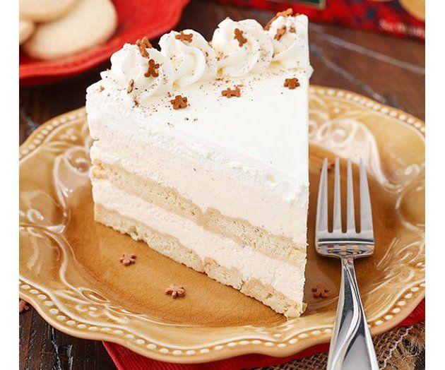 Walkers Shortbread: Eggnog Icebox Cake