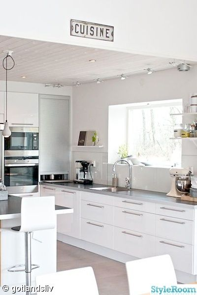17 Best images about Kök on Pinterest  Inredning, White kitchens and ...
