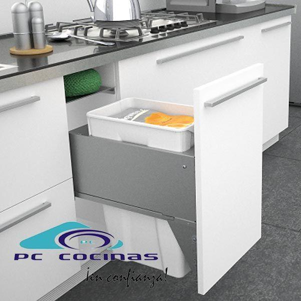 M s de 25 ideas incre bles sobre cubos reciclaje en pinterest - Cubos basura cocina ...