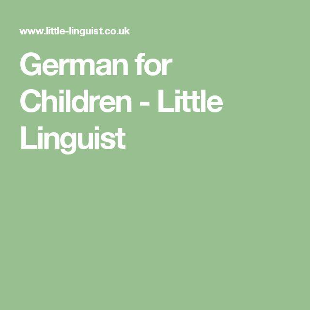 German for Children - Little Linguist