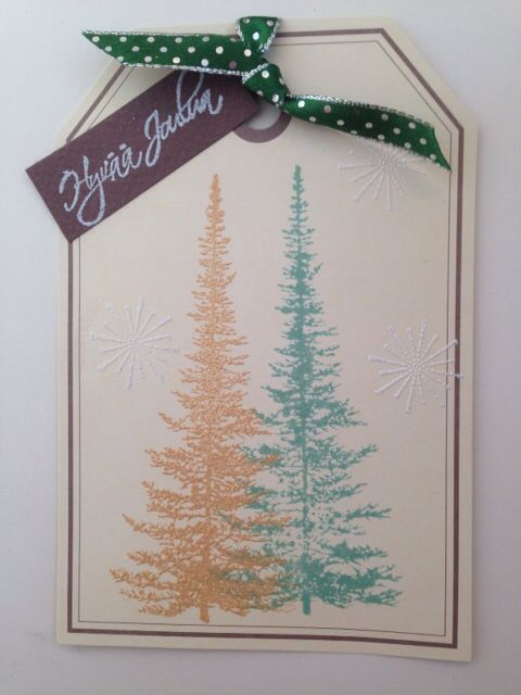 Christmas cards, embossing, stamping.