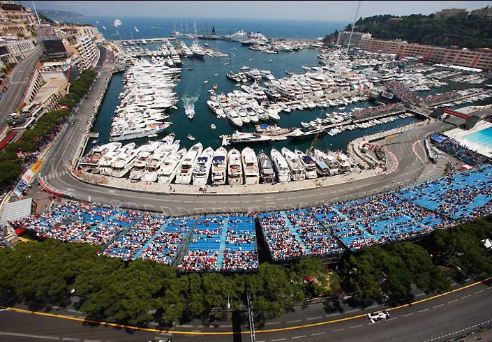 Monaco Harbor View - I need to go here for F1 one of these years!!