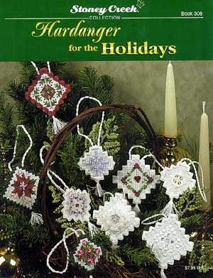 Hardanger For The Holiday - Hardanger ornaments for Christmas.  Great idea!