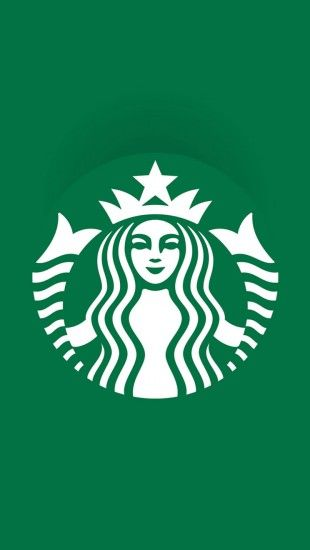 Starbucks logo #iphone #wallpaper