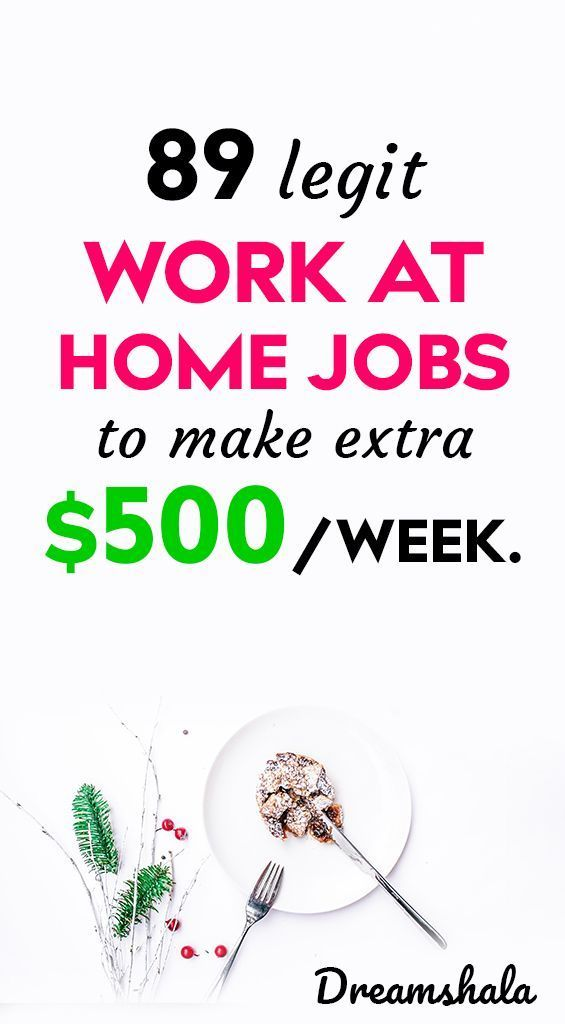 Legit Online Jobs That Pay Weekly 89 Companies Hiring Now In 2020 Legit Online Jobs Work From Home Jobs Online Jobs