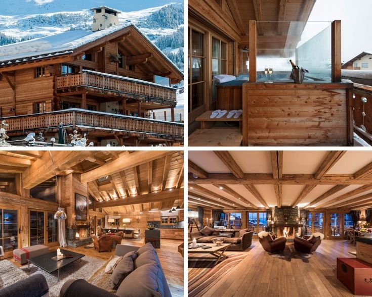 Combination Chalets for Large Group Ski Holidays Hot tub