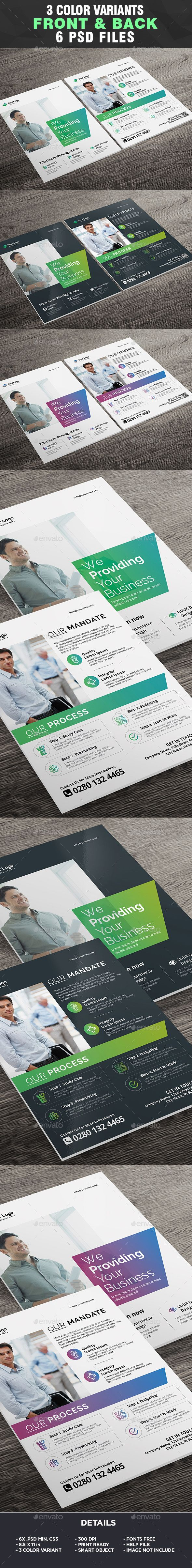 Corporate Business Flyer Template - Business Flyer Template