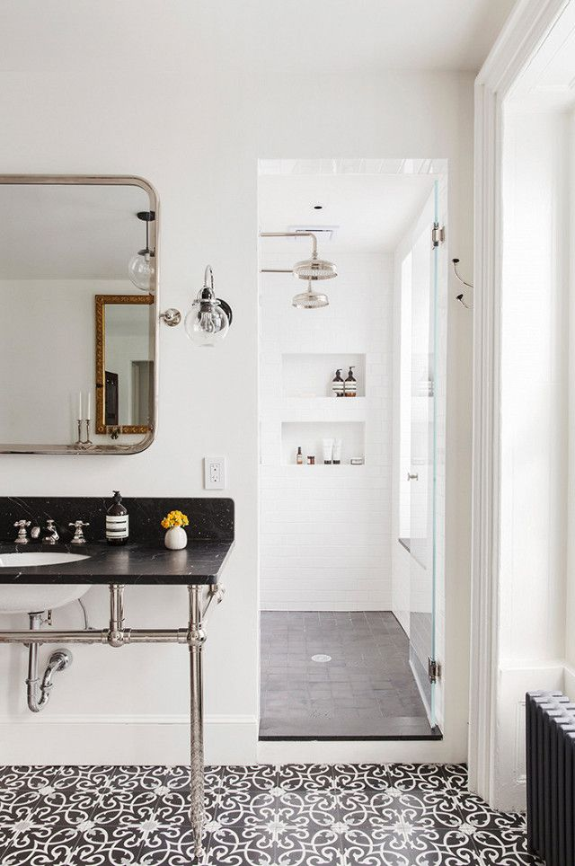 Blame it on the impending extinction of Carrara marble or the rise of edgier designs, but black marble definitely started replacing its white counterpart in 2016. We're only going to see more...