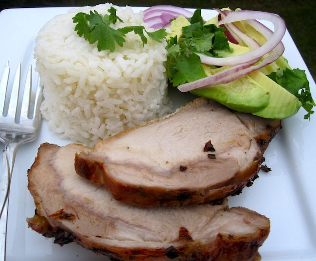 The 25 best colombian dishes ideas on pinterest columbian food can de cerdo colombian style pork loin roast forumfinder Choice Image