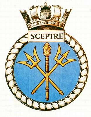 HMS Sceptre badge