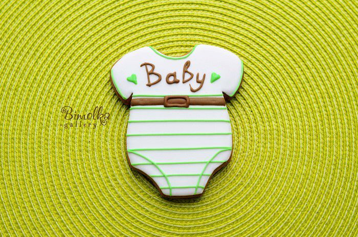 Boby for baby shower (gingerbread cookies )