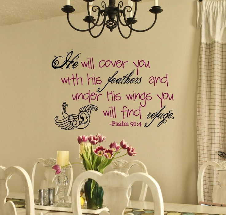 7 best Bible Scripture Wall Decals for Faith & Christian images on ...