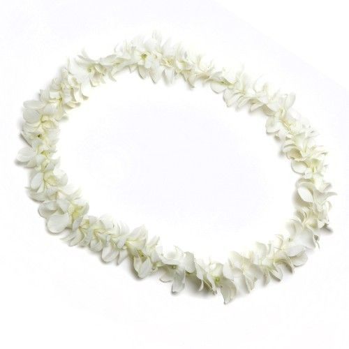 White Orchid Lei- mopsy and Emily/mima