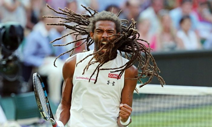 Bravura Dustin Brown display sends Rafael Nadal crashing out of Wimbledon | Sport | The Guardian