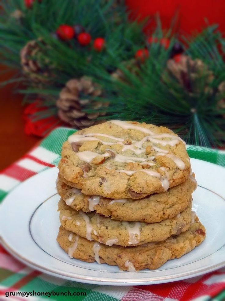 Chewy Mocha Toffee Chip Cookies for the Great Food Blogger Cookie Swap!  #fbcookieswap