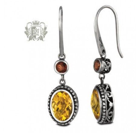 Oval Panos Konidas Earrings