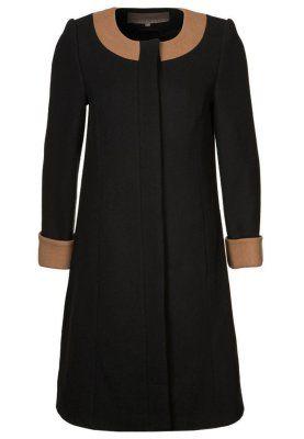 Płaszcz wełniany /Płaszcz klasyczny - czarny