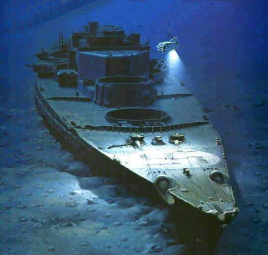 Three miles beneath the Atlantic Ocean a Nazi Warship once feared and revered now rots silently in its watery grave. The Bismarck was found by Dr Robert D. Ballard. Ballard and his team had taken two years to discover the wreck of the Bismarck. It was the same Dr Robert Ballard who discovered the wreck of the Titanic in 1985. The first expedition to find the wreck on July 1988 ended in failure.