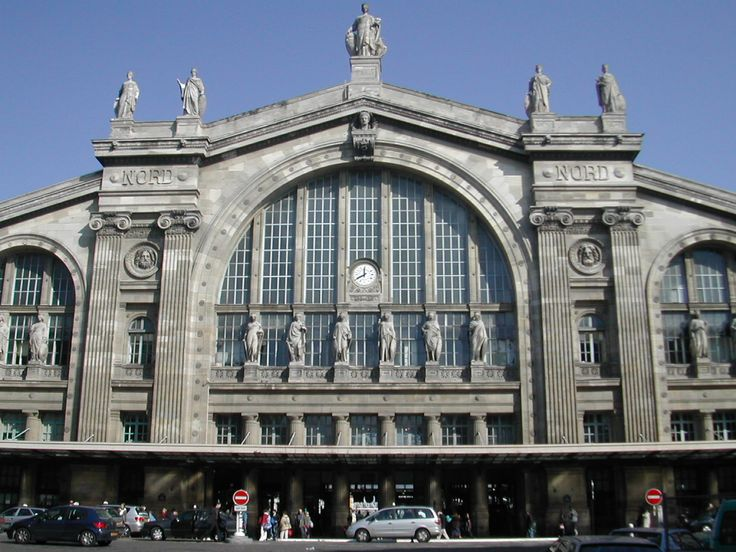 Gare du Nord - show of hands, who wants to catch the TGV and head north to wherever? Me! Me! Me!