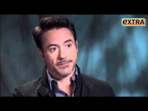 Robert Downey Jr AWESOME interview. Squeeeee!!!! :D :D :D :D :D I <3 Robert :D