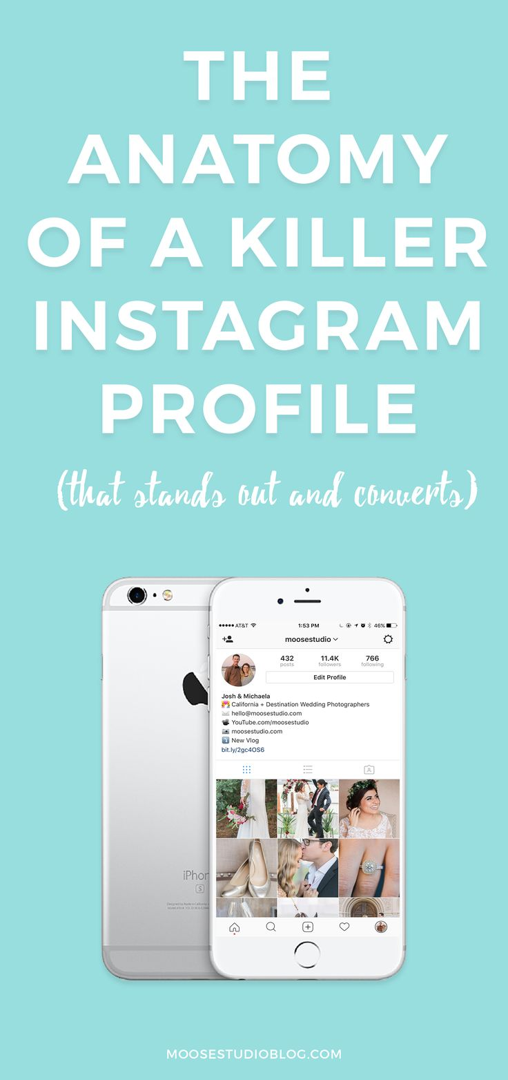 The Anatomy Of A Killer Instagram Profile That Converts