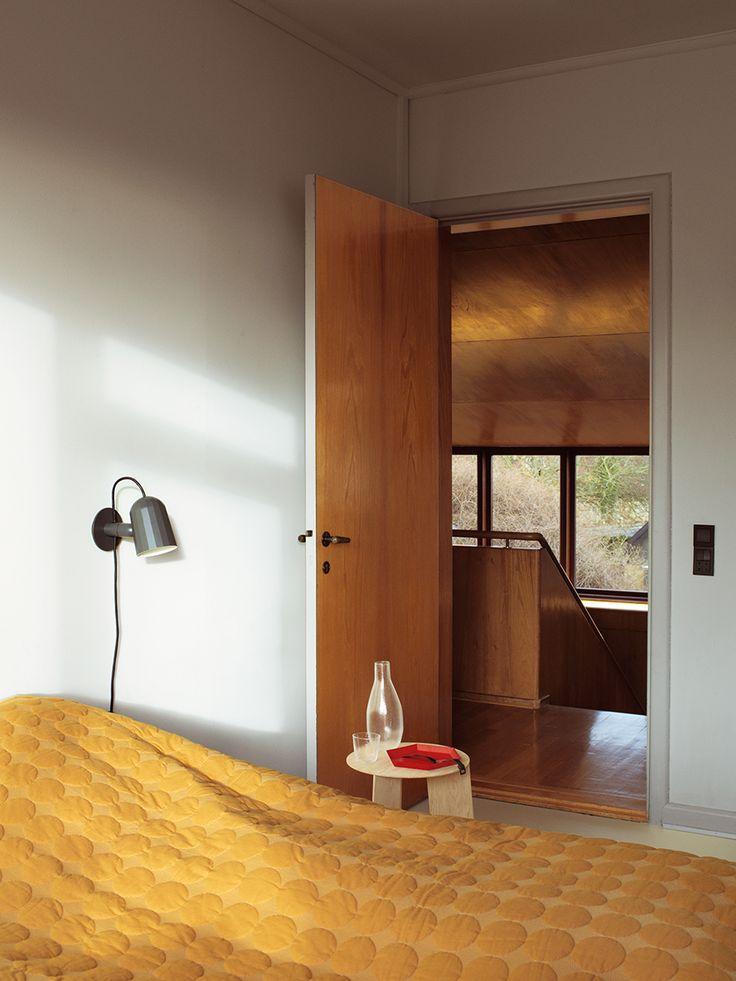 Mega Dot bed cover, Noc Wall lamp, Elephant table, Kaleido tray and Tela Glassware.