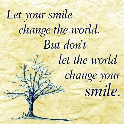 Peaceful Mind Peaceful Life ~ Let Your Smile Change The World.