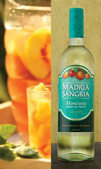 Madria Sangria - Simple White Peachy Sangria Recipe