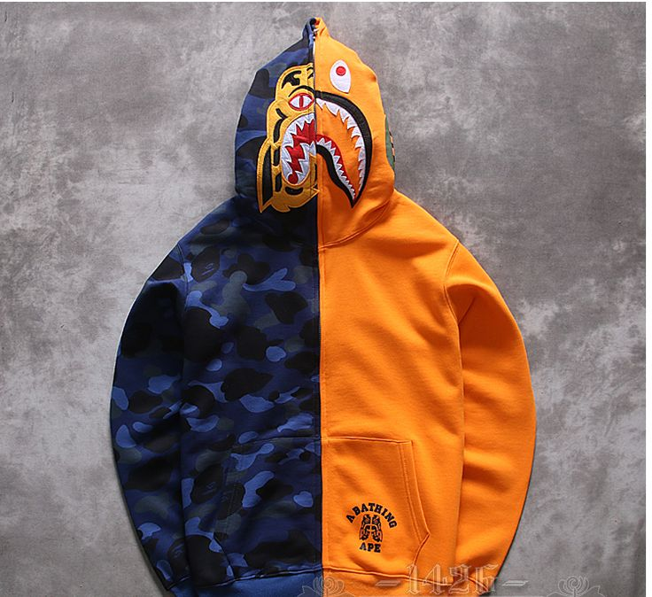 BAPE APE ORANGE BLUE PURPLE SHARK RETRO FULL FRONT ZIP HOODIE SWEATER    #highlight #pout #pose #blonde #blondehair #dublin #flash #diamond #tan #moneymatters #familymattersmost #goals #florida #webstagram #mindset #money #instagramers #food #sunset #swag #throwbackthursday #onedirection #statigram #blue #art #instahub #pink #bestoftheday #yolo #filefashion