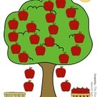 Free! Apple Tree.... open-ended game that you can use within your apple theme, fall theme, or back to school theme.