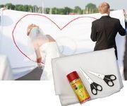 Leintuch Hochzeitsspiel