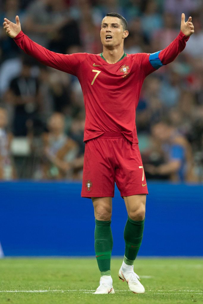 Cristiano Ronaldo Of Portugal In Action During The 2018 Fifa World Cristiano Ronaldo Ronaldo European Soccer Players